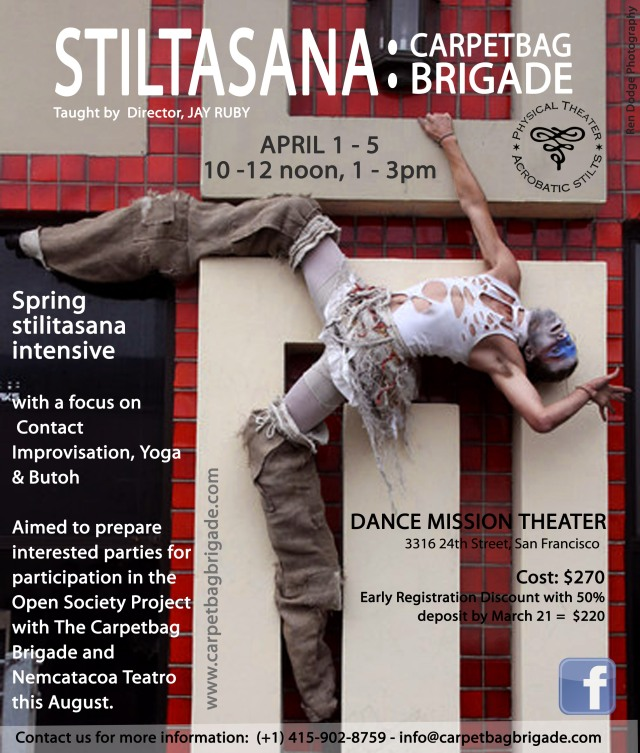 Spring Intensive in San Francisco, April 1 - 5