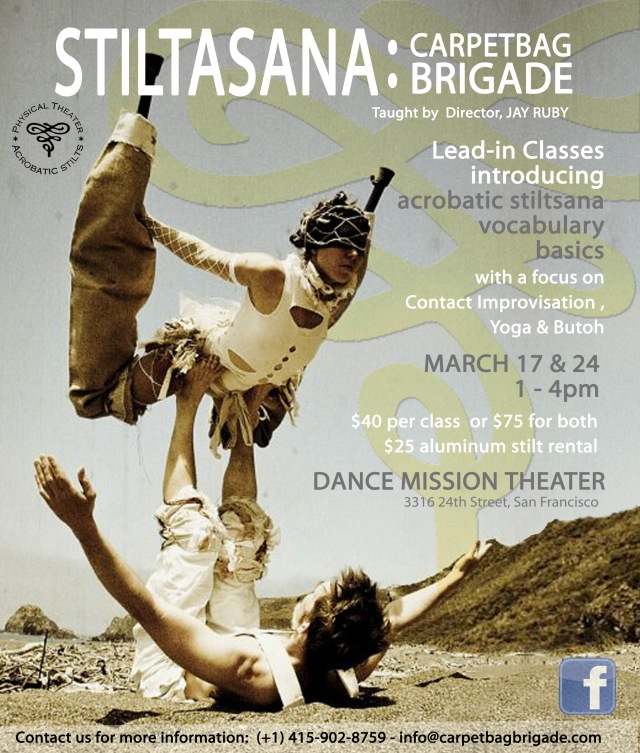 San Francisco Stiltasana March 17 & 24